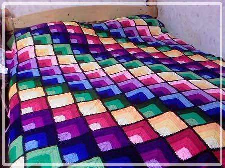 Crochet blanket pattern with video