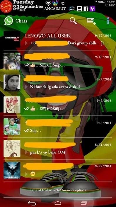 WhatsApp Mod Transparan v2.11.301