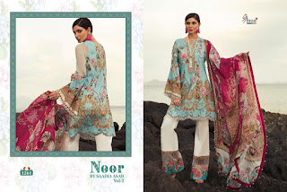 Shree Fab Noor Saadia Asad Vol 2 Pakistani Suits in Wholesale Rate