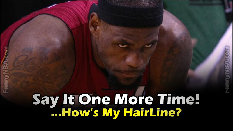lebron james hairline meme - photo #25