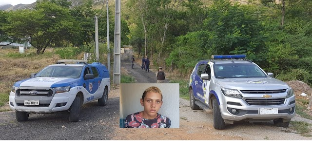 Jovem Antonio Marcos Barbosa dos Santos de 16 anos de idade foi encontrado morto,  teve a Familia como  padrasto , mãe e irmã assassinados em Jacobina