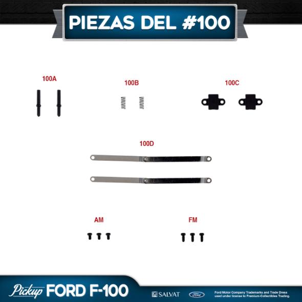 Entrega 100 Ford F-100