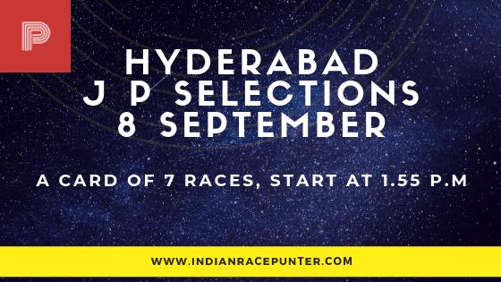 Hyderabad Jackpot Selections 8 September