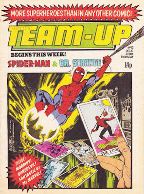 Marvel Team-Up #13, Marvel UK, Spider-Man and Dr Strange