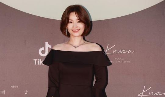 Jeon Mi-do at Baeksang Arts Awards 2020