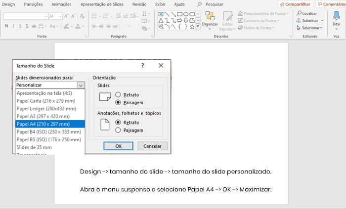 Como fazer um planner semanal no PowerPoint