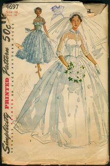 revista de noivas anos 50
