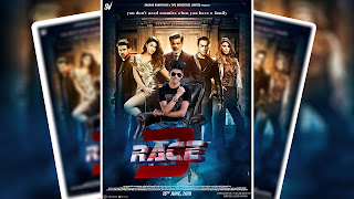 RACE 3 MOVIE POSTER EDITING