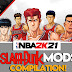 NBA 2K21 SLAMDUNK MODS COMPILATION