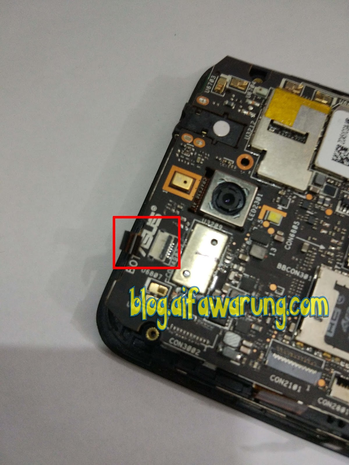 Cara Ganti Lcd  Led   Kaca Layar Sentuh Asus Zenfone C  Z007