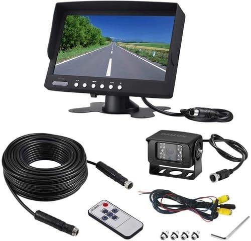 DALLUX RCS7000B Vehicle Backup Camera kit