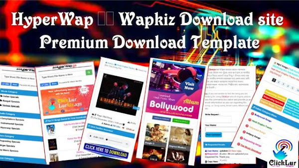 HyperWap Wapkiz Download site Premium Template