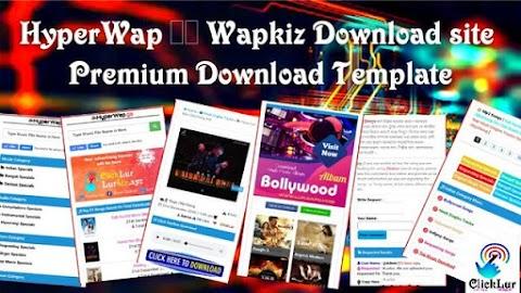 HyperWap Wapkiz Download Site Premium Template