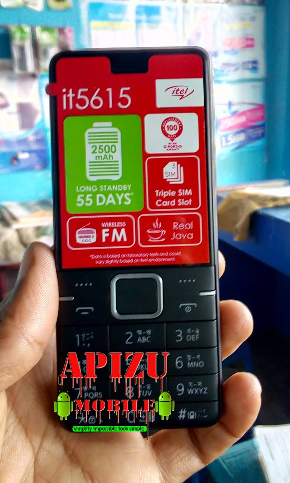 DOWNLOAD ITEL 5615 PAC FIRMWARE: TESTED - APIZU MOBILE