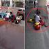 Watch | Video ng Isang Lalaki, Viral Ngayon Matapos na Kuhanin ang Mga Helmet sa Motor Para Hindi Mabasa ng Ulan!