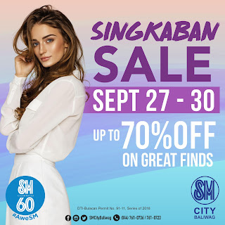 SINGKABAN SALE, FESTIVITIES AT SM BULACAN MALLS