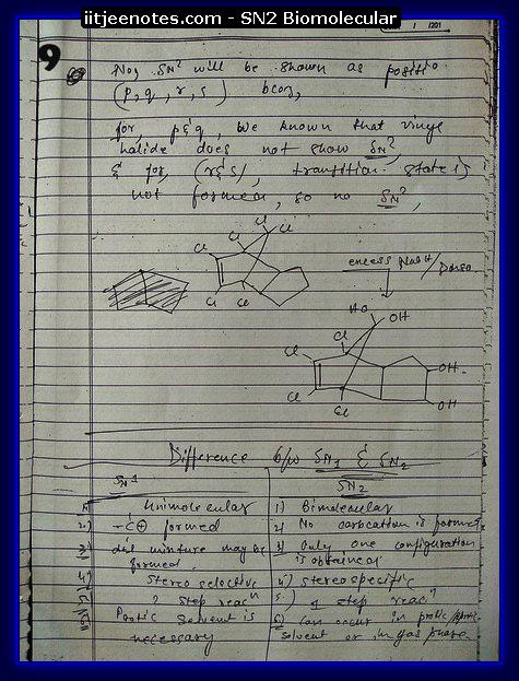 SN2 Biomolecular Org8