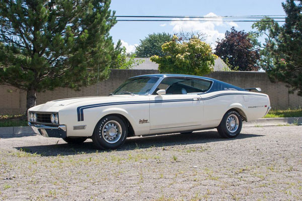 Fully Restored Mercury Cyclone 1969