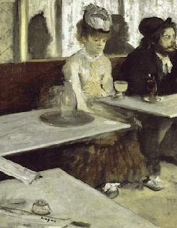 L'Absinthe Edgar Degas, 1873 absinto