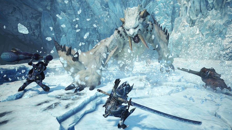 monster hunter world iceborne dlc ps4 xbox one capcom beast hunting