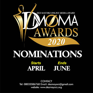 DMOMA Award nomination Starts 1st April.