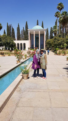We would like to offer you Uppersia Shiraz gardens tour by visiting the Persian gardens and magnificent tombs of the most prominent representatives of the Persian literature, Hafez and, Sa'adi. Thanks to the well-informed tour guide of Uppersia team, Nazanin for accompanying our dear guest from Australia.