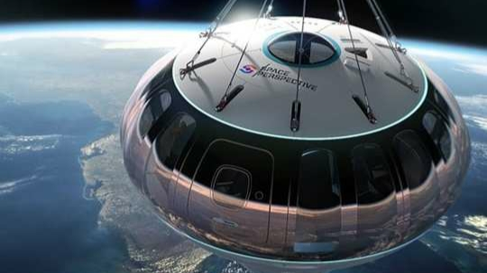 This giant balloon will travel to space