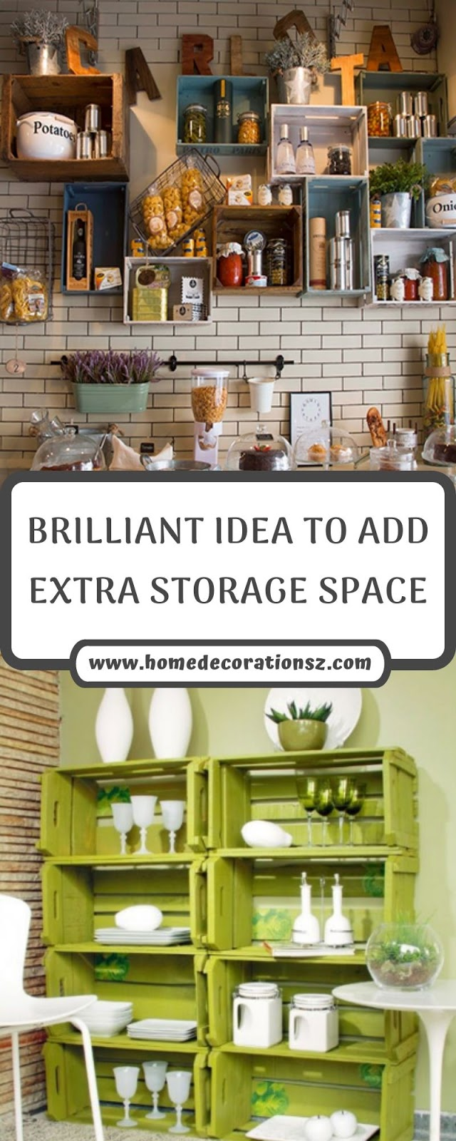 BRILLIANT IDEA TO ADD EXTRA STORAGE SPACE