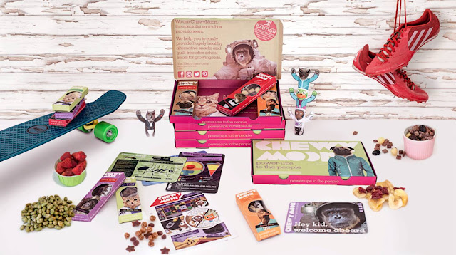 Chewy Moon kids snack box
