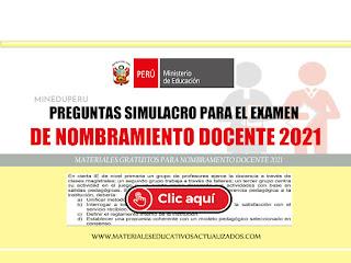 Nombramiento docente 2021