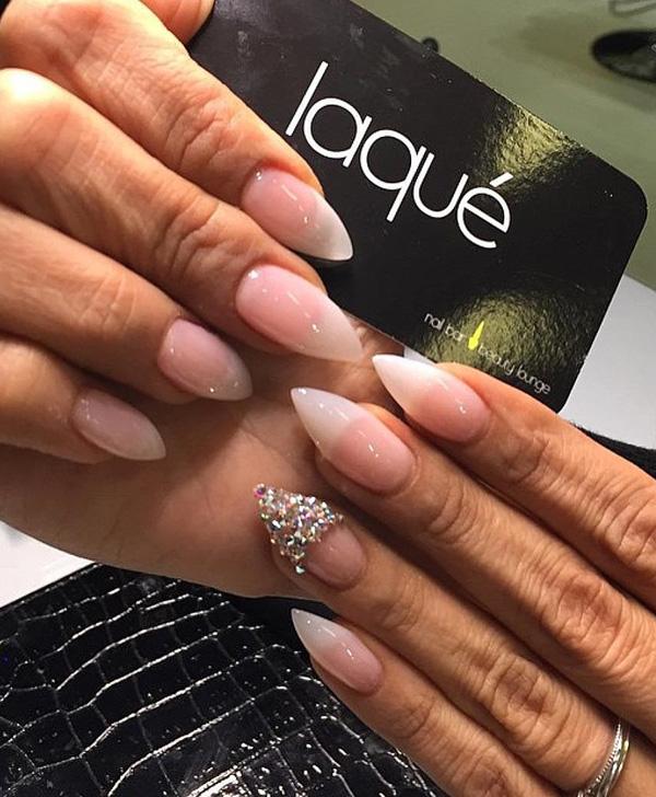 nail design almond color pretty nail art polish nail christmas rainbow tattoo abstract cute galaxy love winter spring 2017