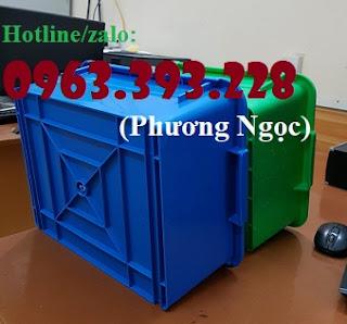 Thùng nhựa đặc A3, hộp nhựa công nghiệp, khay linh kiện 97e6b615c1f726a97fe6
