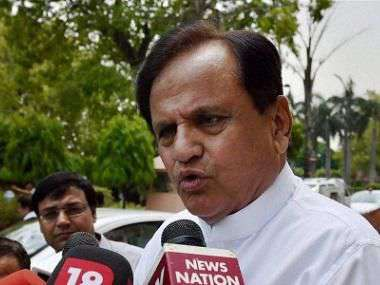 Clandestine swearing-in marks black day for Maharashtra, BJP crossed 'limits of shamelessness', says Congress' Ahmed Patel