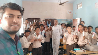 Art and Craft Work Education Instructor Mr. Gourav GSSS Bhattu Kalan