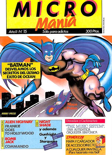 Revista Micromanía Número 15