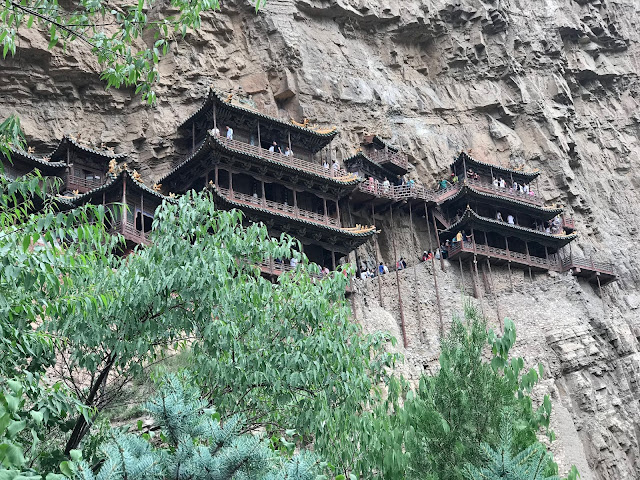 China onde ir, Mosteiro suspenso na china