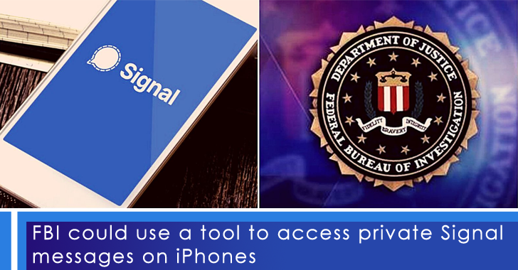 FBI Tool Private Signal Messages