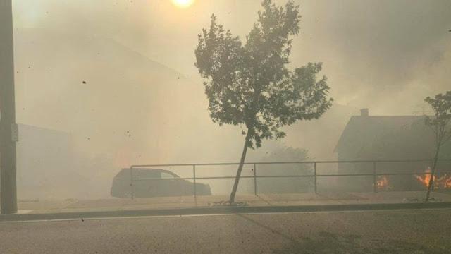 Καύσωνας και πυρκαγιές πλήττουν τον Καναδά