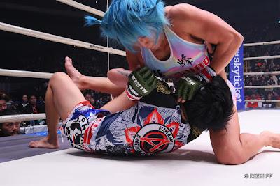 Miyuu Yamamoto defeats Suwanan Boonsorn RIZIN FF 20