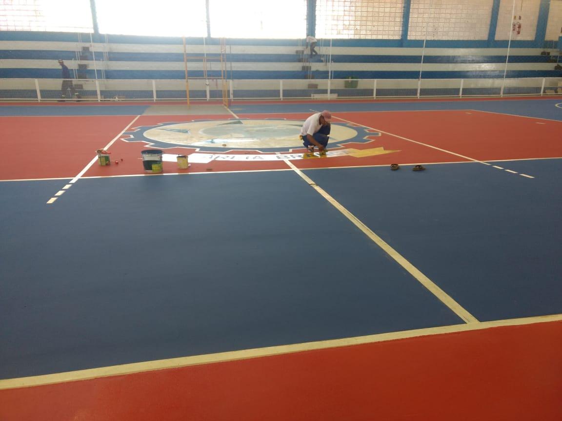 b1b820c03d Prefeitura conclui melhorias no Ginásio Poliesportivo para o início do  Campeonato de Blocos