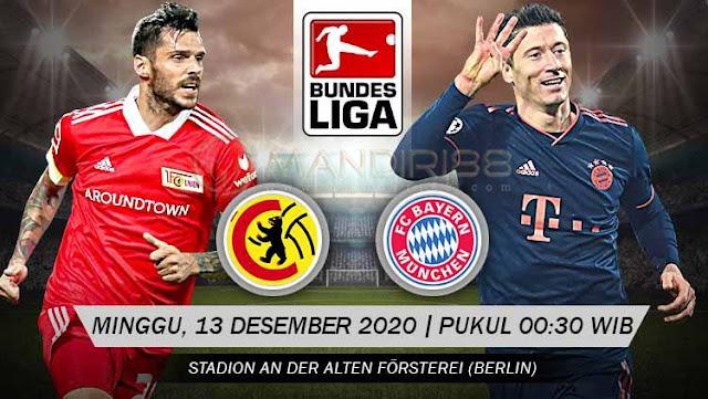 Prediksi Union Berlin Vs Bayern Munchen, Minggu 13 Desember 2020 Pukul 00.30 WIB @ Mola TV