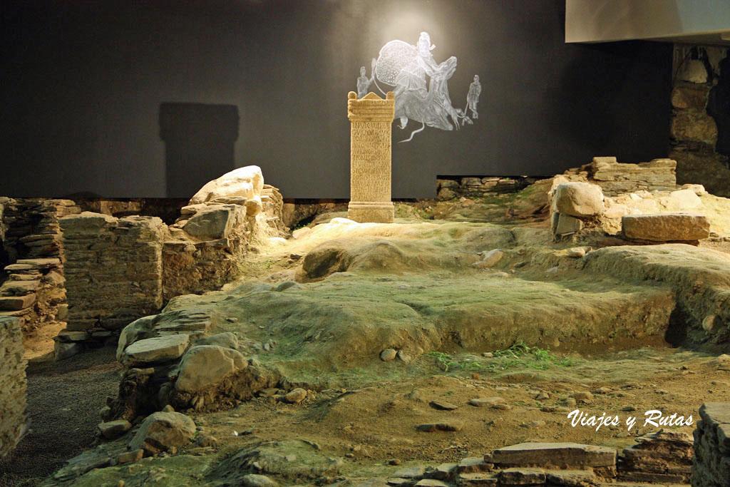 Domus del Mitreo, Lugo
