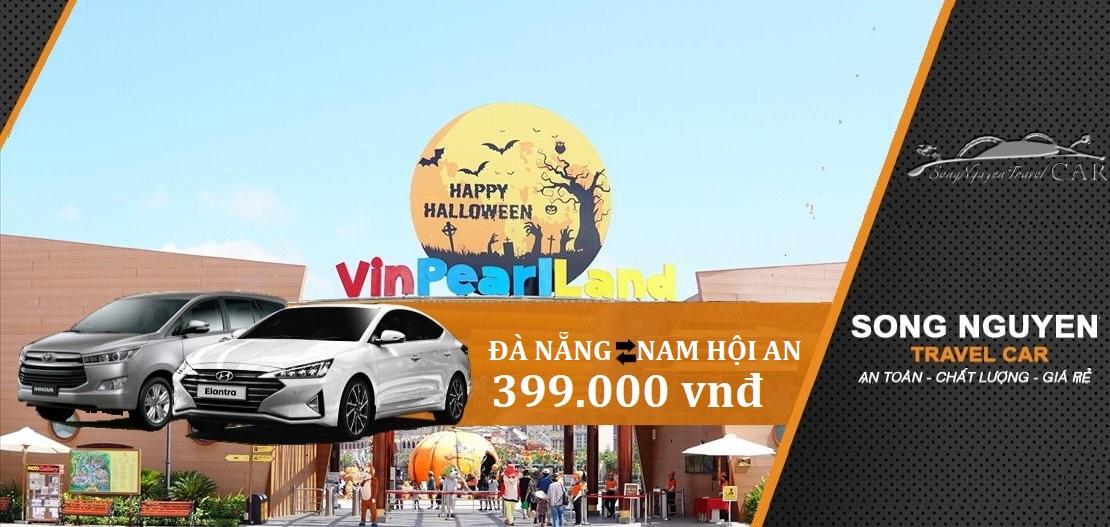 Thuê xe Đà Nẵng đi Vinpearl Nam Hội An