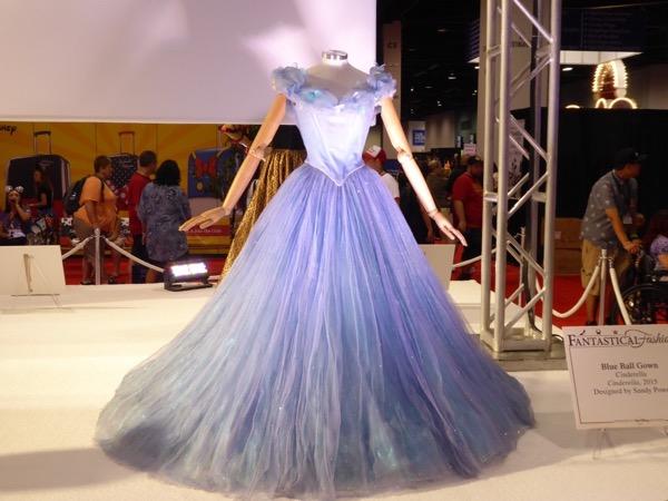 Lily James Cinderella ballgown