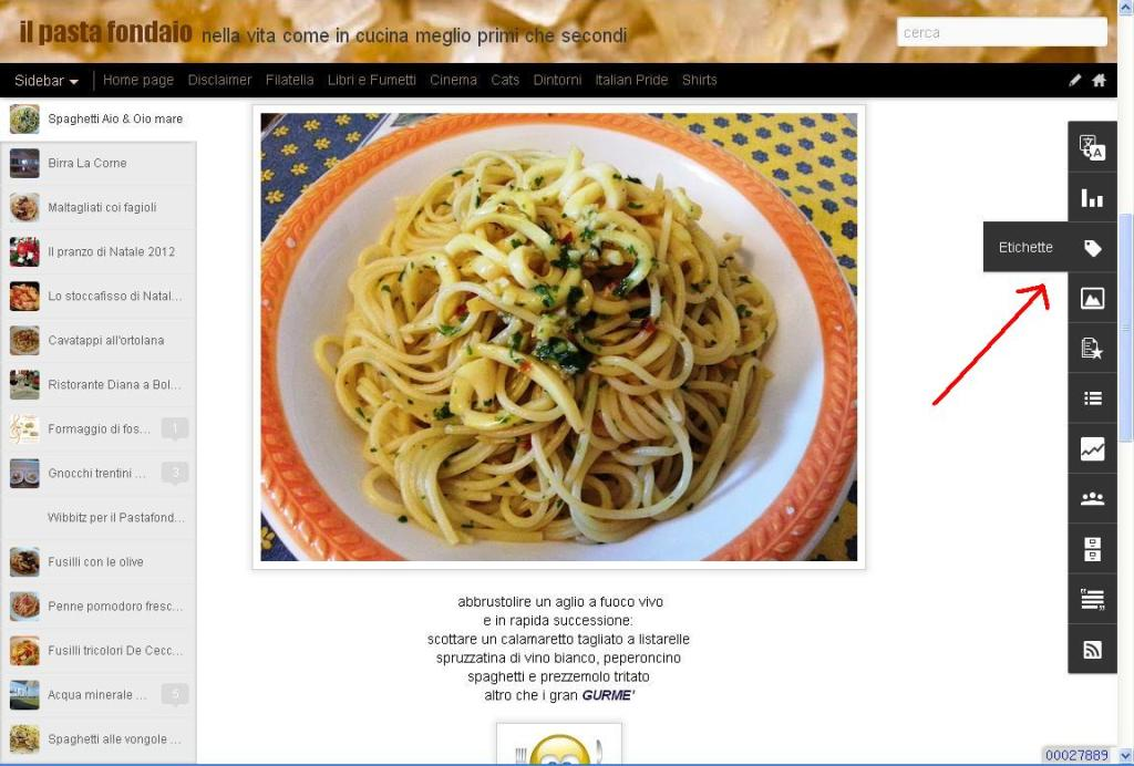 esempi di blogger Dynamic View