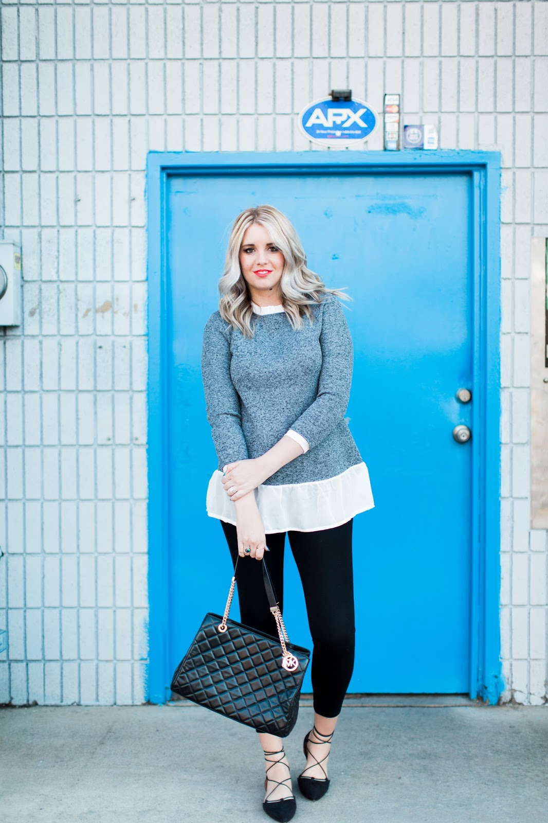 Spring Outfit Ideas, Nordstrom, Michael Kors Purse