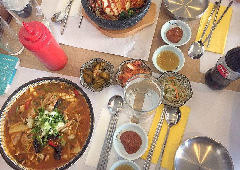 Samsun Jjamppong, seafood soup