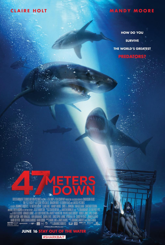 """Movie Review: """"47 Meters Down"""" (2017)"""