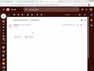 terima email