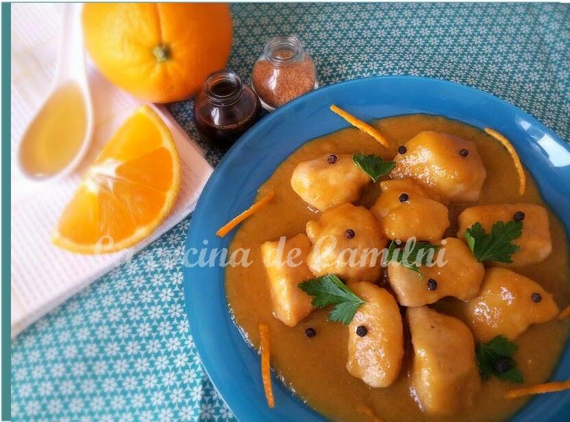 Pollo a la naranja (La cocina de Camilni)